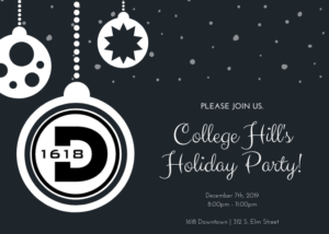 College Hill Holiday Party at Downtown 1618