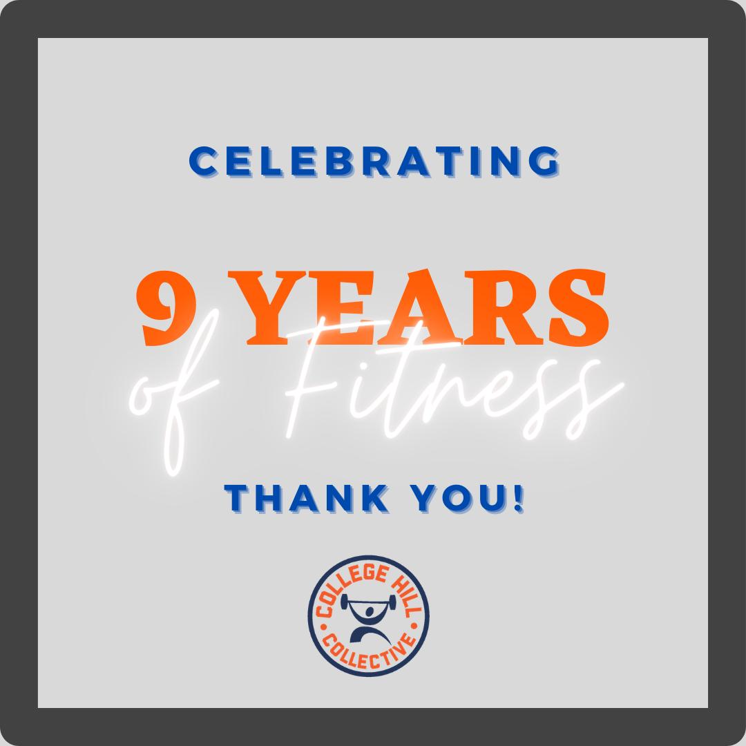 Celebrating 9 Years!
